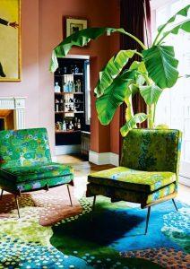 trendy interior design colours