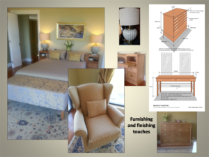 bedroom furnishing and finishing touches